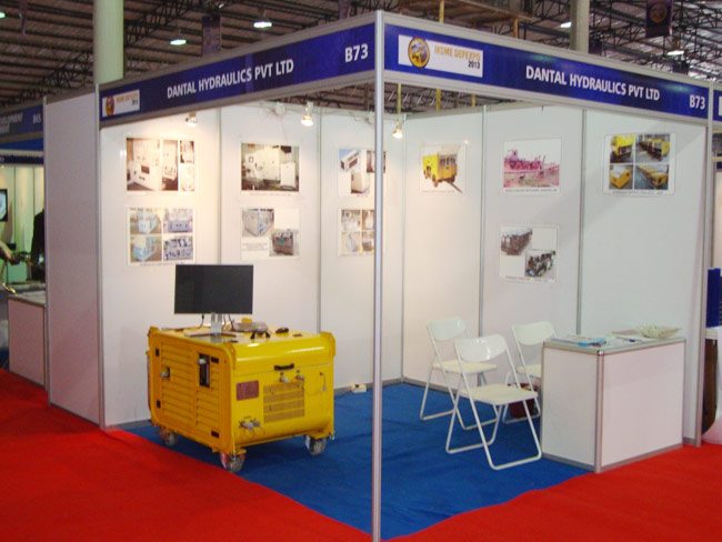 Dantal Hydraulics Participated in MSME DEFEXPO-2013